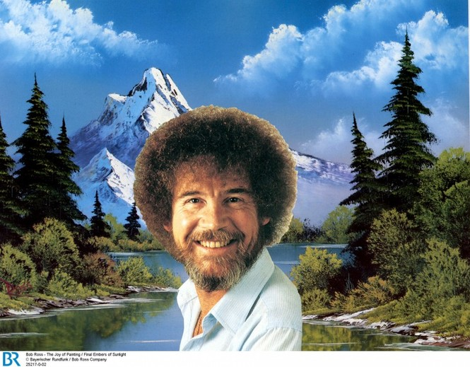 Detailbild Bob Ross – The Joy of Painting