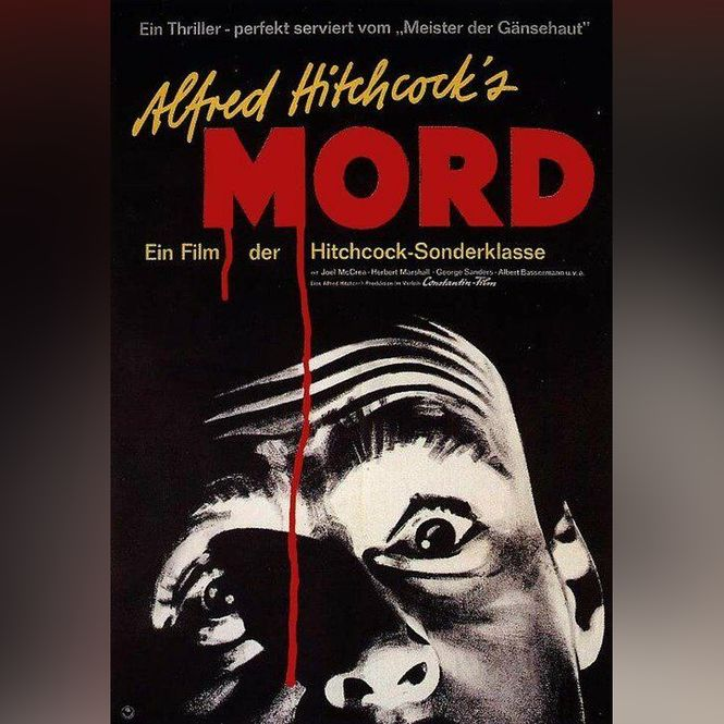 Detailbild Alfred Hitchcock: Mord